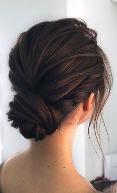 40 Different Types of Wedding Hairstyles that Look Gorgeous Wedding-hairstyles-with-low-bun