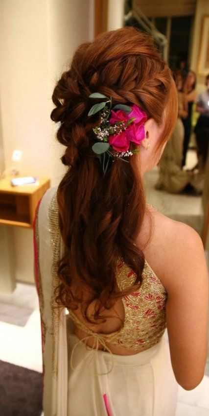 40 Different Types of Wedding Hairstyles that Look Gorgeous Wedding-hairstyles-with-roses