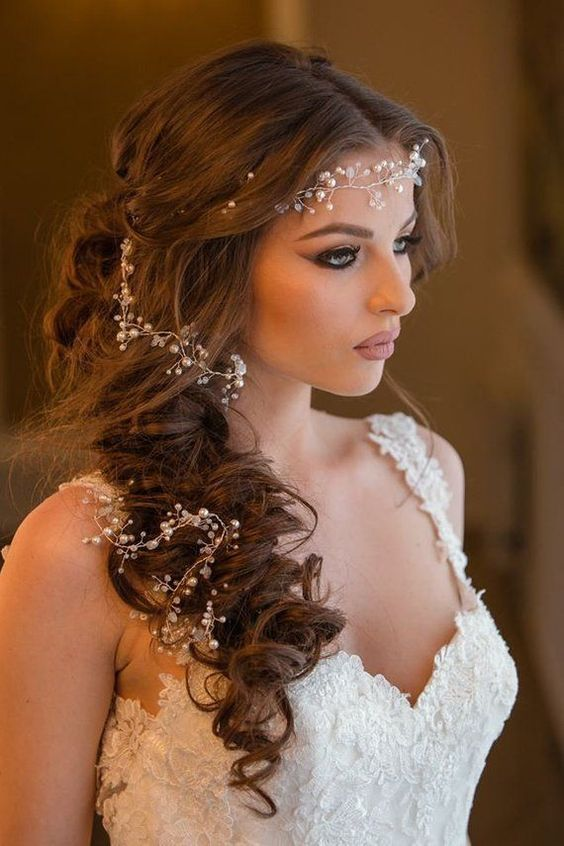 40 Different Types of Wedding Hairstyles that Look Gorgeous Wedding-hairstyles-with-vine