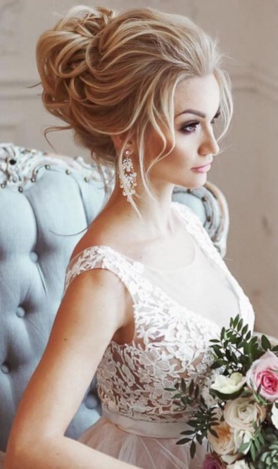 40 Different Types of Wedding Hairstyles that Look Gorgeous Wedding-hairstyles-with-volume