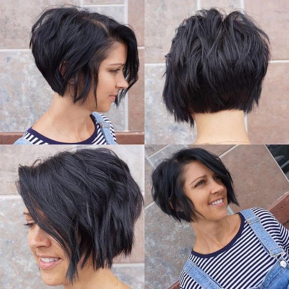 Types of Wedge Haircut Style that Perfect for 2020 and Beyond Wedge-bob-style