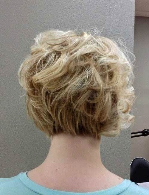 curly wedge 1 - Short Hairstyles 2020