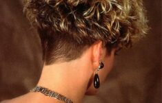 Types of Wedge Haircut Style that Perfect for 2020 and Beyond curly-wedge-2-235x150