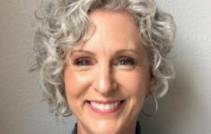 Appropriate Short Curly Hairstyles for Older Women in 2020 grey-curly-hairstyle-1-235x150