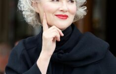 Appropriate Short Curly Hairstyles for Older Women in 2020 grey-curly-hairstyle-5-235x150
