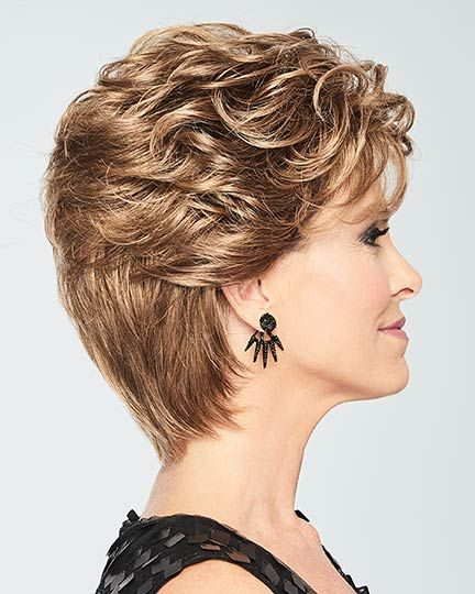 layered short curly hairstyles 4