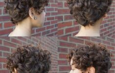 Appropriate Short Curly Hairstyles for Older Women in 2020 short-curly-wedge-3-235x150