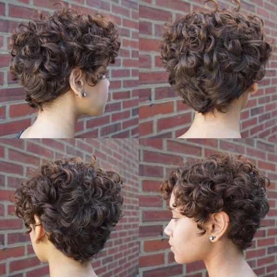 short curly wedge 3
