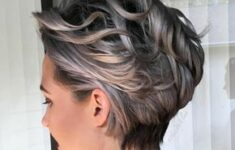 Appropriate Short Curly Hairstyles for Older Women in 2020 short-curly-wedge-6-235x150