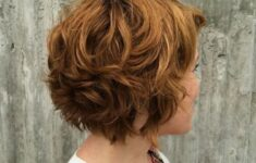 Timeless Short Layered Haircuts that Gorgeous for Older Ladies in 2020 short-layered-wavy-bob-1-235x150