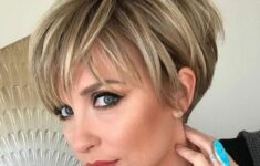 Timeless Short Layered Haircuts that Gorgeous for Older Ladies in 2020 short-straight-layered-asymmetrical-hairstyles-5-235x150