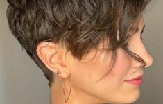 The Best Hairstyles for Women with Short Wavy Hair in 2020 wavy-pixie-cut-7-235x150
