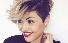 The Best Hairstyles for Women with Short Wavy Hair in 2020 wavy-pixie-cut-9-235x150