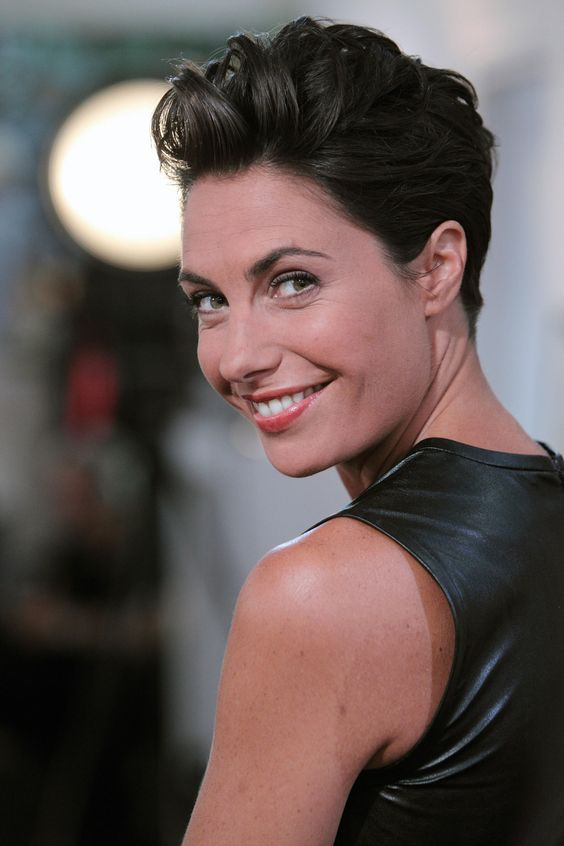 Wavy Slicked Back Hairstyle 4 Short Hairstyles 2020