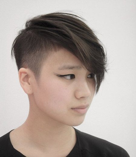 14 Asian Pixie Hairstyles that Looks Flattering 24b53d9f1c972510dca5a86507e7b4cf
