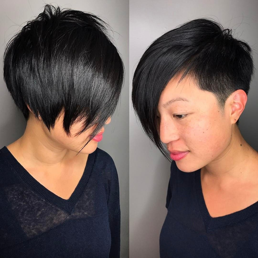 14 Asian Pixie Hairstyles that Looks Flattering 418a107870fd93ca7b7f47b92e019774