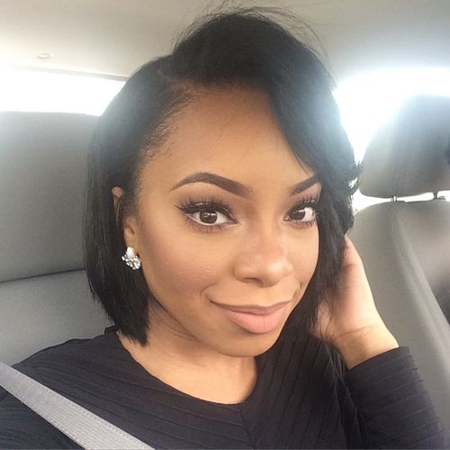 125+ Elegant Bob Hairstyles for African American Women (Updated 2021) 45f5607281a517ee5f6fcc0c1fc5ccb1