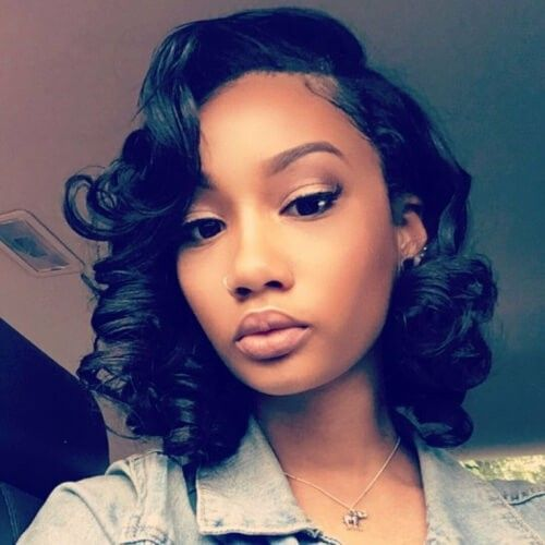 125+ Elegant Bob Hairstyles for African American Women (Updated 2021) 7aed89549858ce15f33a388f8a62212b