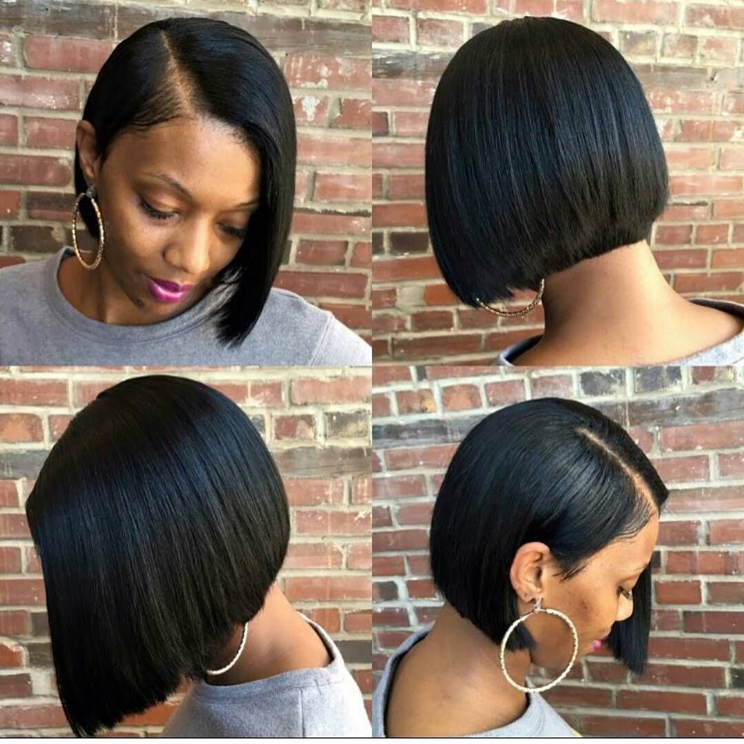 125+ Elegant Bob Hairstyles for African American Women (Updated 2021) 7e025906dc5a4bea31d84671ea660e16