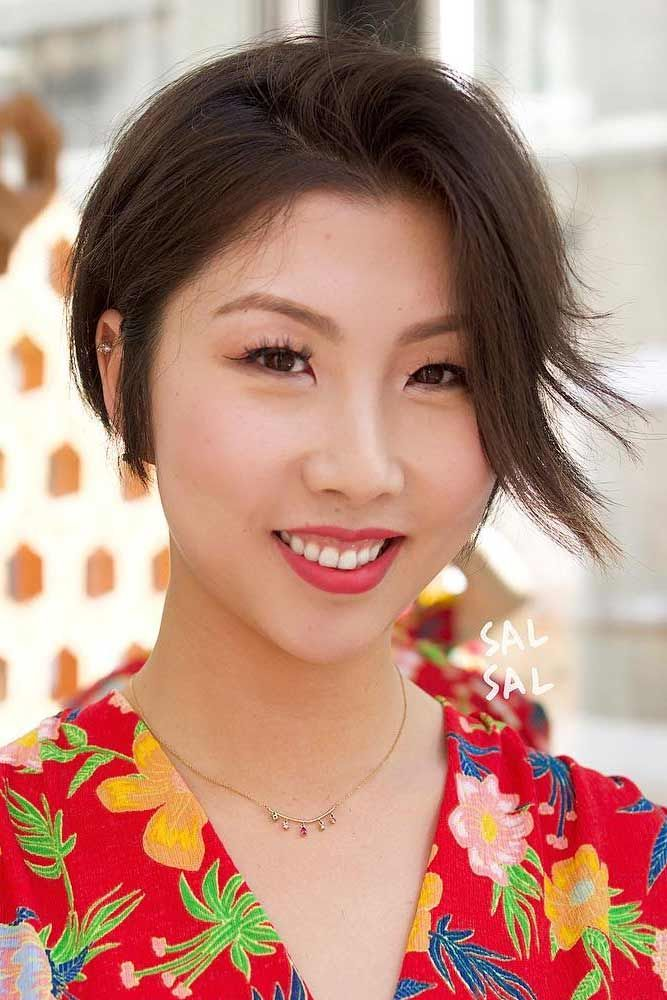 14 Gorgeous Asian Pixie Haircuts that Easy to Maintain ec133dd3e910e74f24e52507f713224e
