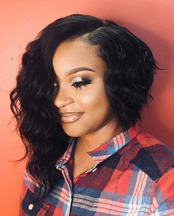 125+ Elegant Bob Hairstyles for African American Women (Updated 2021) ff4d13725164f5b39479c83c99a12816