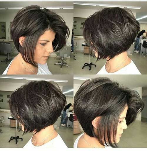 50 Bob Hairstyles for Round Faces that Looks Gorgeous 1672cb51b80322cc1f9846d6c9b015fd