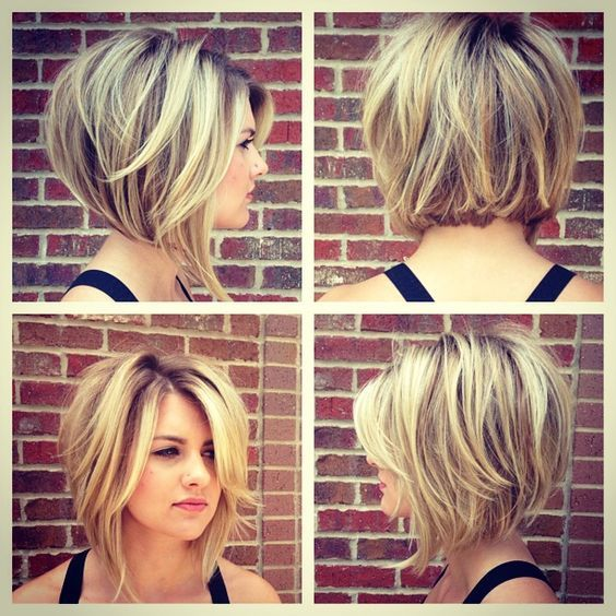50 Bob Hairstyles for Round Faces that Looks Gorgeous 7f59cc687da54461970774b373a4ef61