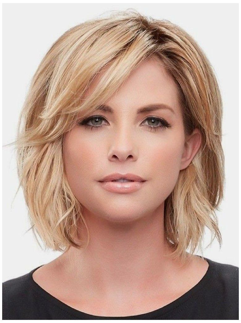 50 Bob Hairstyles for Round Faces that Looks Gorgeous bb620aaa54639587010d3d4465f51d02