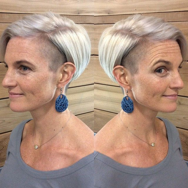 100 Short Haircut Styles for Over 50 Women in 2021 07e33defdb3ba03cfae37527ad27c93f