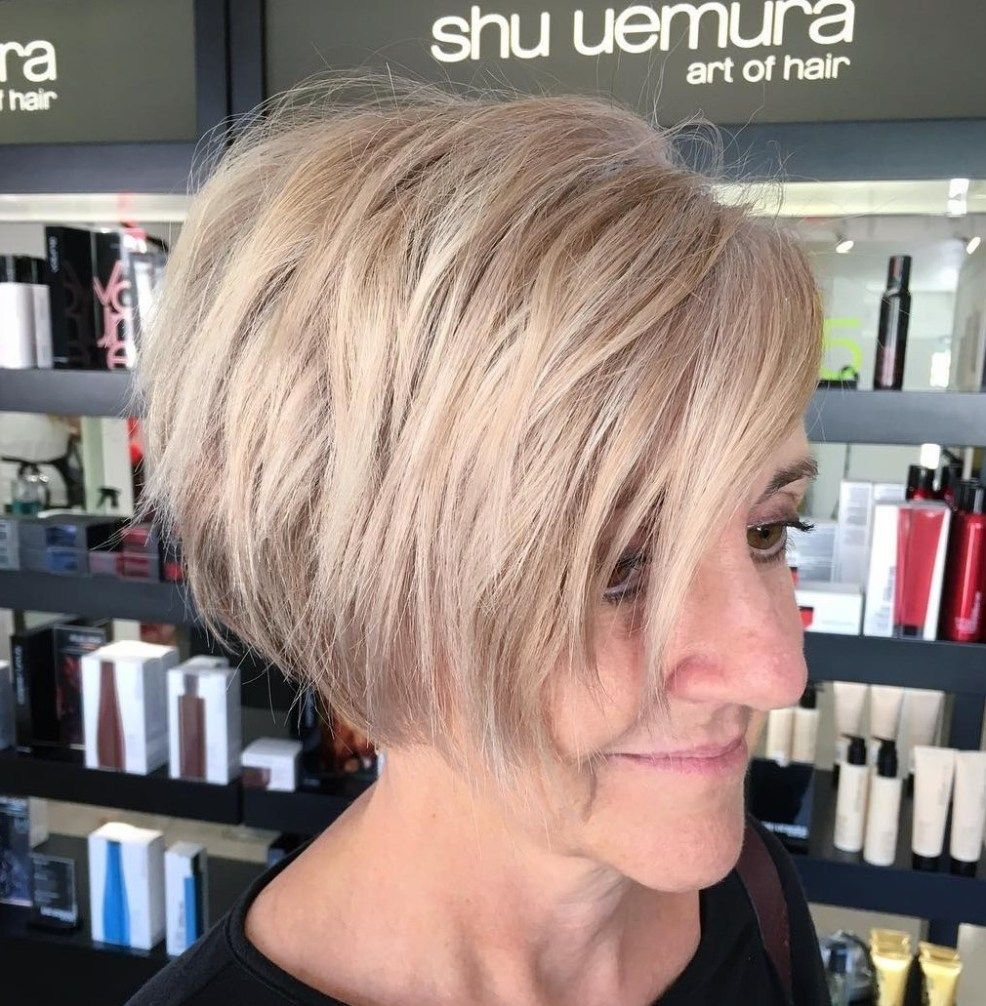 100 Short Haircut Styles for Over 50 Women in 2021 34c699a1d2509650df7cc878bfc4cc7f