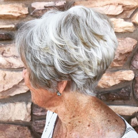 81 Beautiful Short Hairstyles for Women Over 60 (Updated 2021) 6f9d89774cc5b6bf032881ef38311f8f