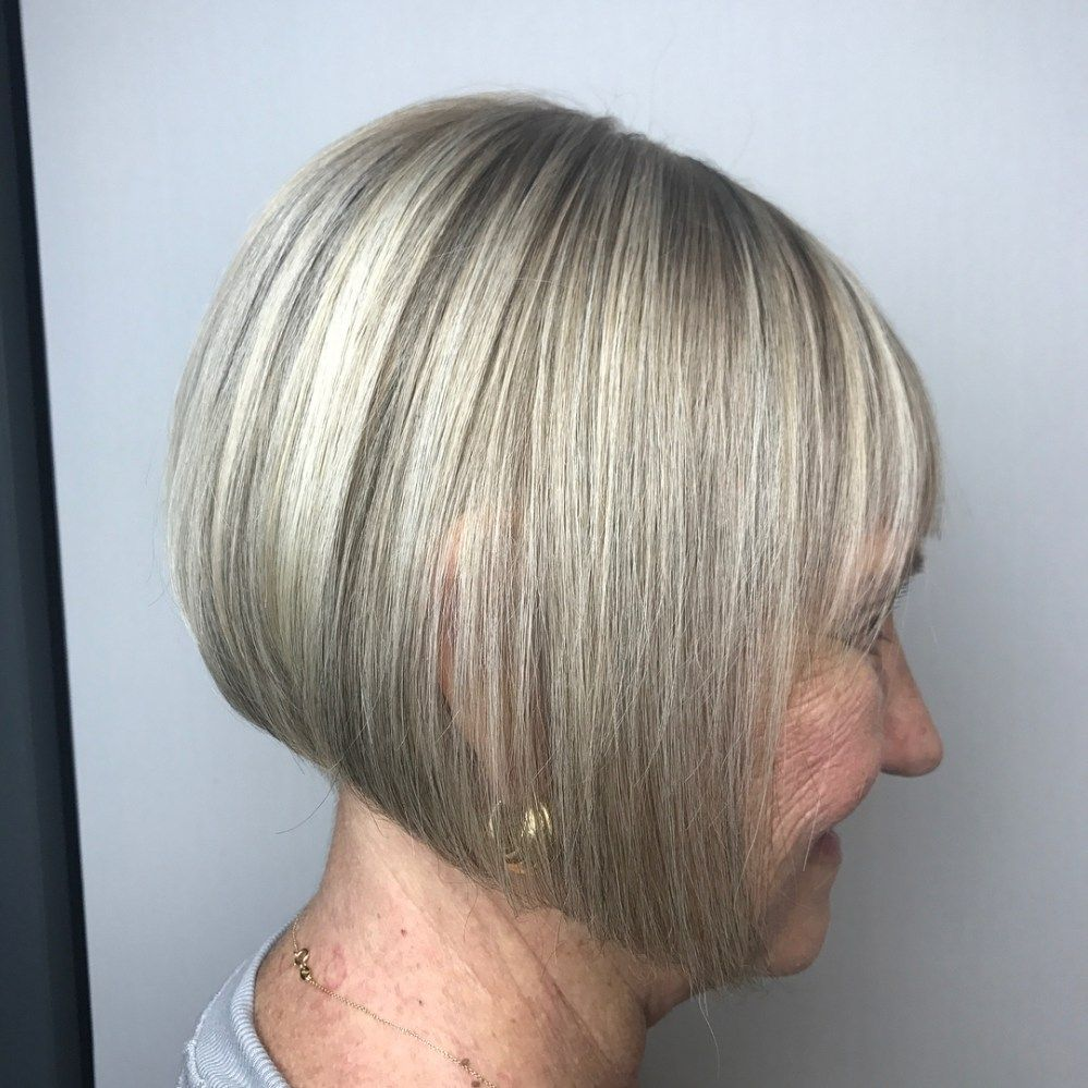 81 Beautiful Short Hairstyles for Women Over 60 (Updated 2021) 7248fb4b1a05d9843e9f84271f285ab0