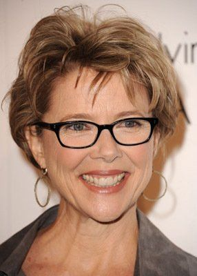 56 Short Hairstyles for Women Over 60 with Glasses (Updated 2021) 9fde9b59d17fc48d4491fb2502944d91