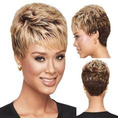 100 Short Haircut Styles for Over 50 Women in 2021 aff36f03470d0893e14fd05b27842dac