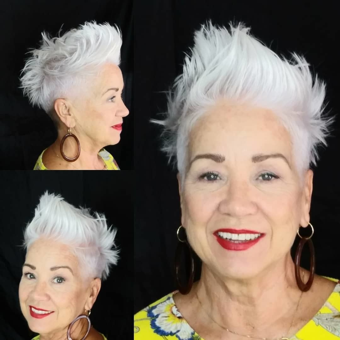10 Permed Short Haircut Styles for Older Women in 2021 b336702ec60f2899c30059e29afcbf8d