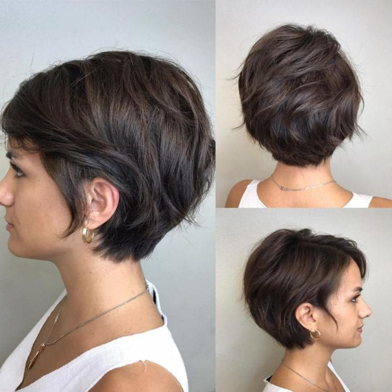 100 Short Haircut Styles for Over 50 Women in 2021 b8c461291f16f1461018baf165193f3a