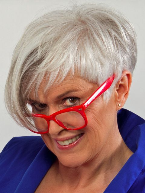 56 Short Hairstyles for Women Over 60 with Glasses (Updated 2021) d77a45da1018e990cb7bf43e1b027ec3