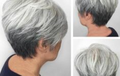 17 Tapered Pixie Haircut Styles for Women Over 50 in 2021