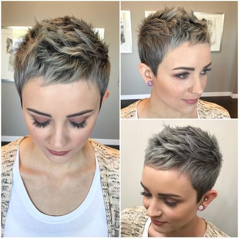 100 Short Haircut Styles for Over 50 Women in 2021 f7eda0d3505f94342925bbb230a640ab
