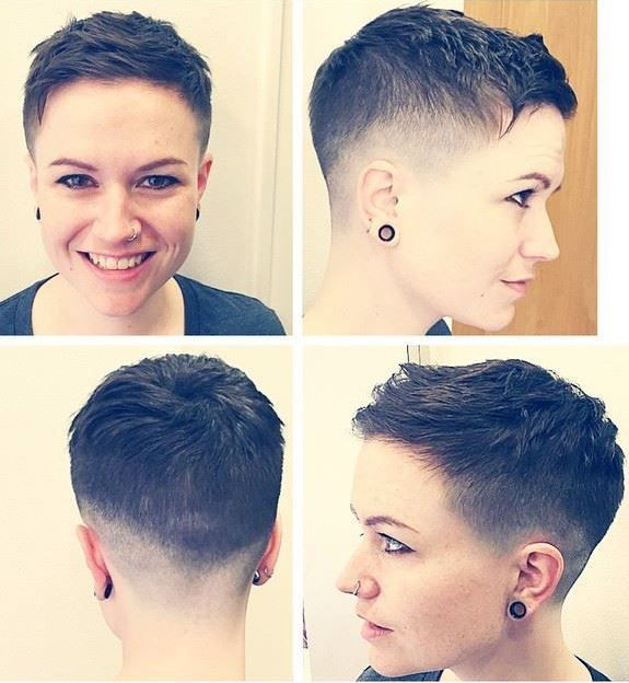 17 Tapered Pixie Haircut Styles for Women Over 50 in 2021 f954e3cbe38fa9dab225ff8a4680e048
