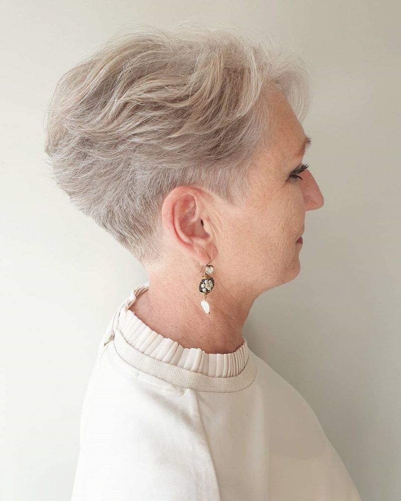 65 Pixie Haircuts for Women Over 60 (Updated 2021) 10311bbafac134ef0b991b685499c051