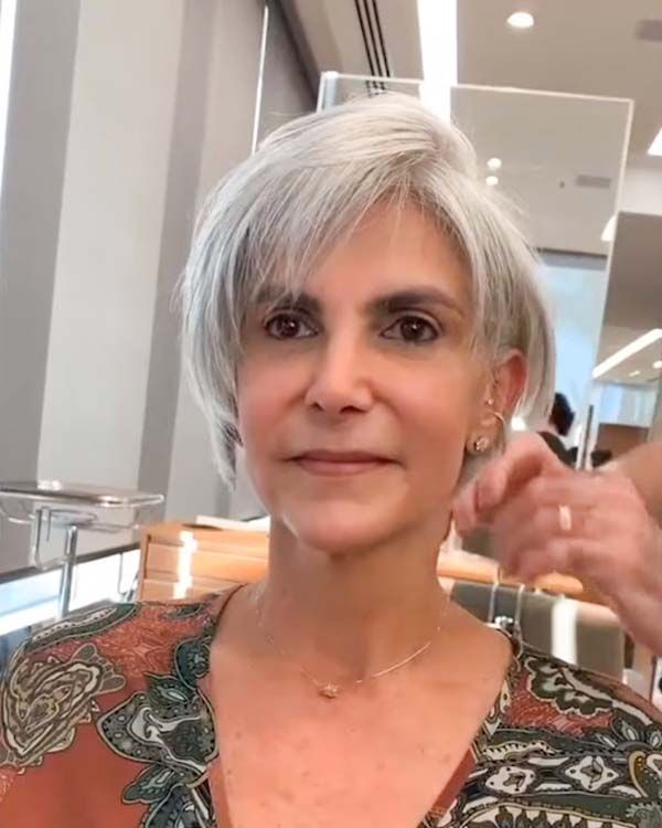99 Cute Short Haircuts for Women Over 50 (Updated 2021) 855f3905af280a26a0109373a8f104ed