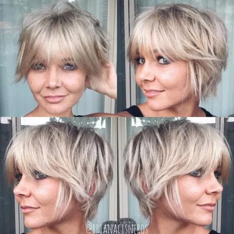 47 Best Shag Haircuts for Women over 50 That Is Easy To Try in 2021 b30b578675b49ab9cdcb4fec23ef4b28