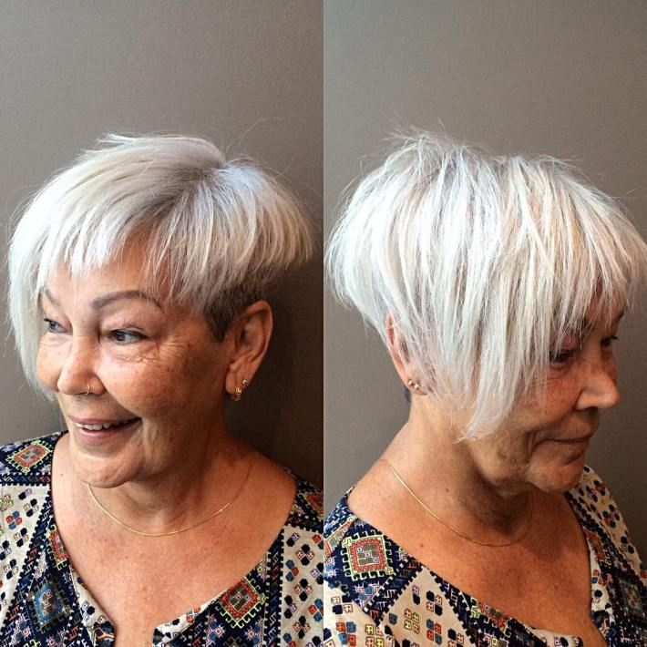 12 Best Wedge Haircuts for Women over 60 (Updated 2021) d5a0d271f58d6f681b08461204063f5f