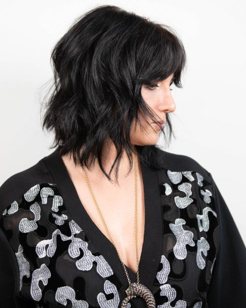 47 Best Shag Haircuts for Women over 50 That Is Easy To Try in 2021 ec9aa73ef42f68aca8162675e857d849