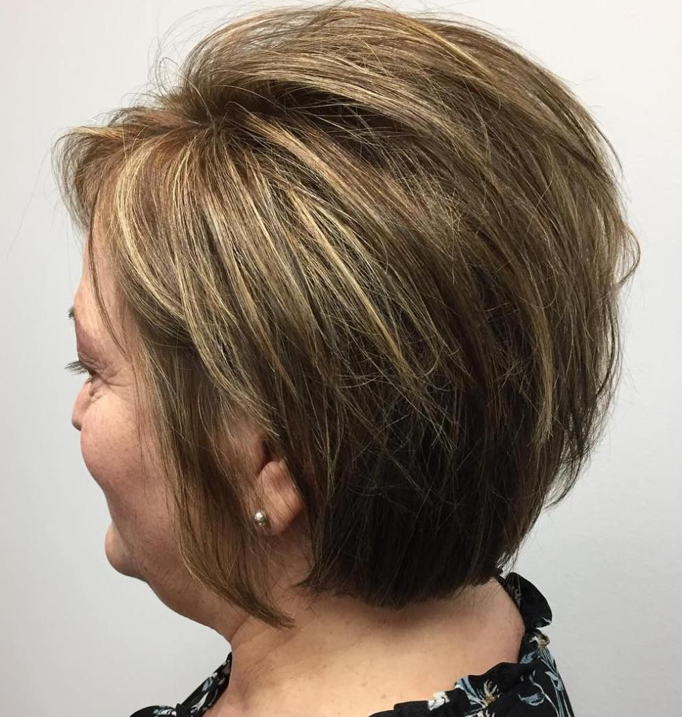 Hairstyles for over 50 women with fine hair