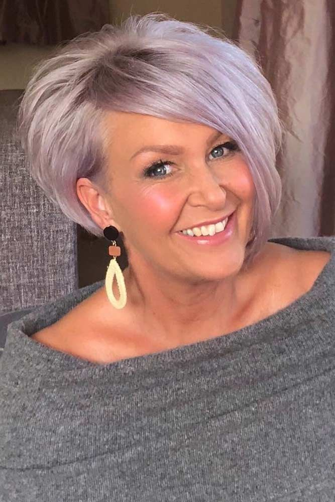 100 Short Haircut Styles for Over 60 Women in 2021 02aaf740a5fc4f7dfc9ceafecee928f0