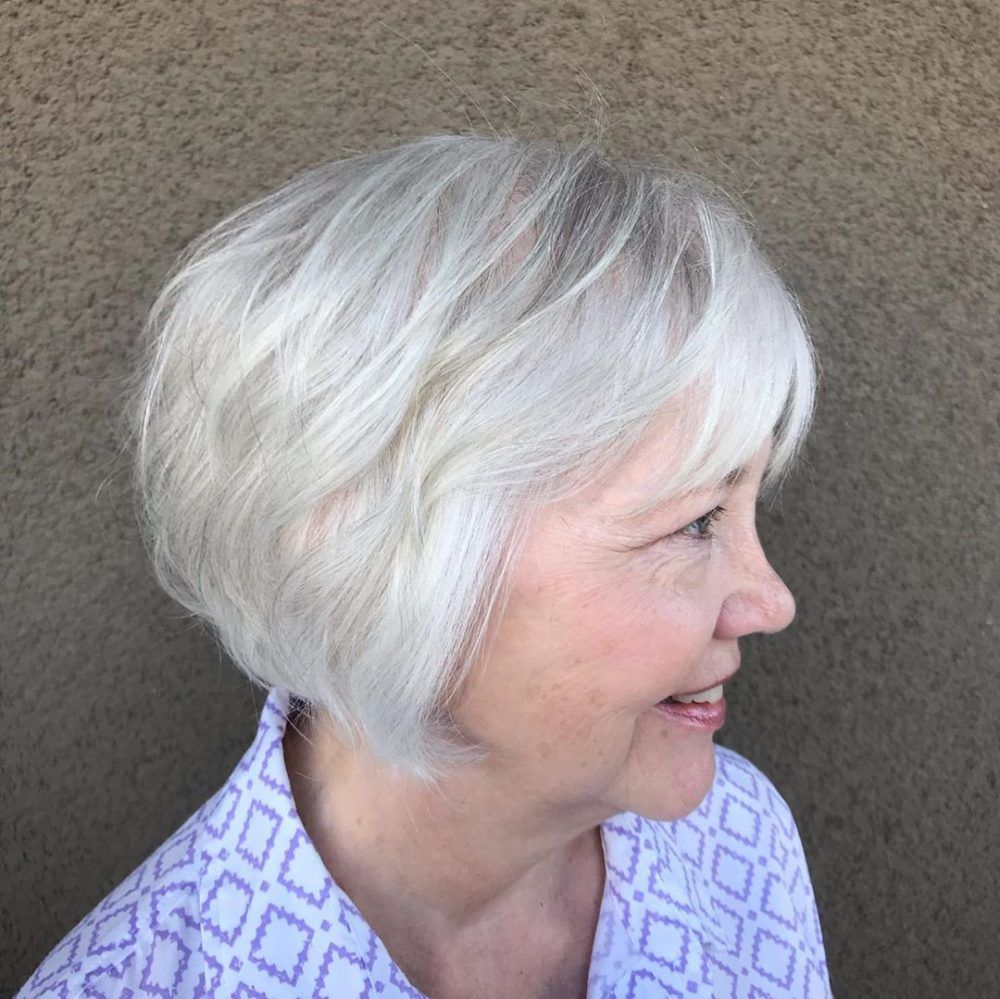100 Short Haircut Styles for Over 60 Women in 2021 1018b5bc7d3568f08c2962ec59621d10