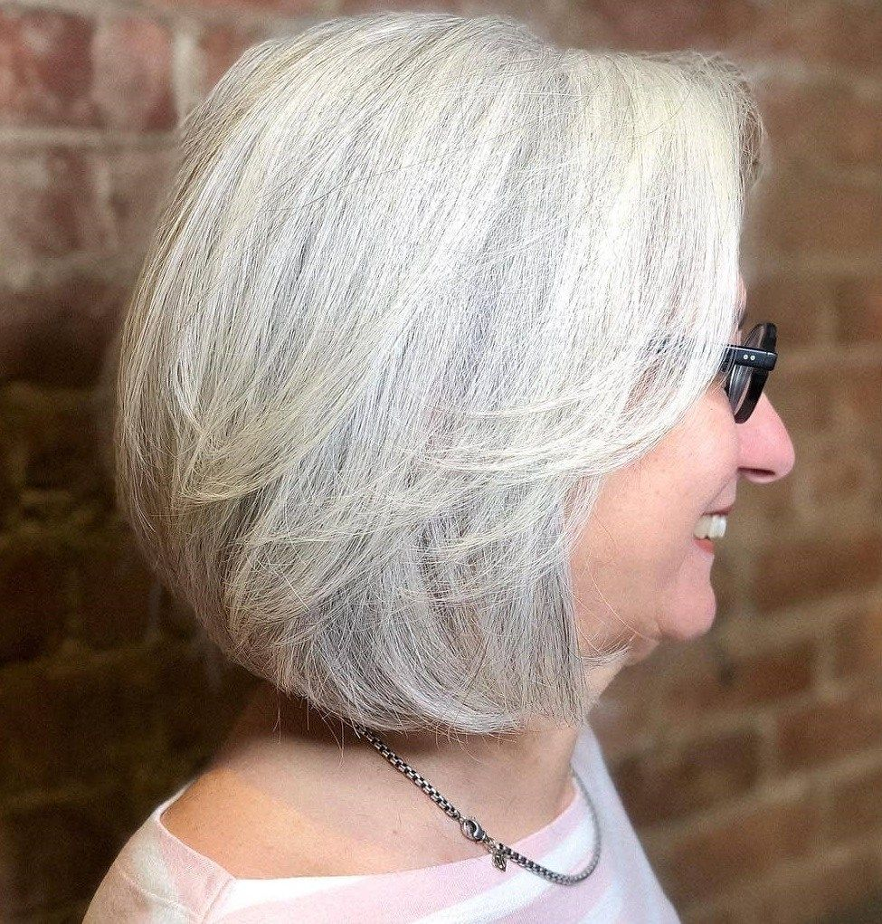 100 Short Haircut Styles for Over 60 Women in 2021 10365d81bb33eace336607bb336c36a0