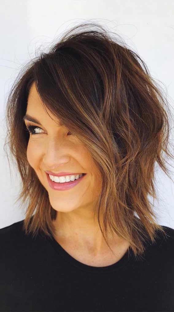 53 Awesome Short Layered Haircuts for Older Women (Updated 2021) 178c3ee917abb1bc8ba5f2f8226e8a4e